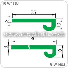 Conveyor Chain Guide Uhmw Pe Wear Strip Profiles Liner