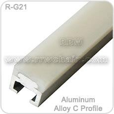Belt Chain Guide Rail Profile Metal Aluminum Alloy Channel